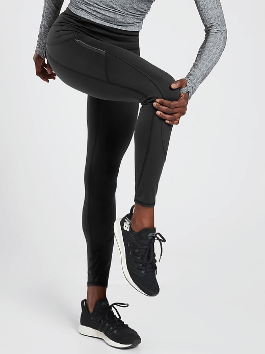 Athleta Rainer Tight in Plush Super Sonic