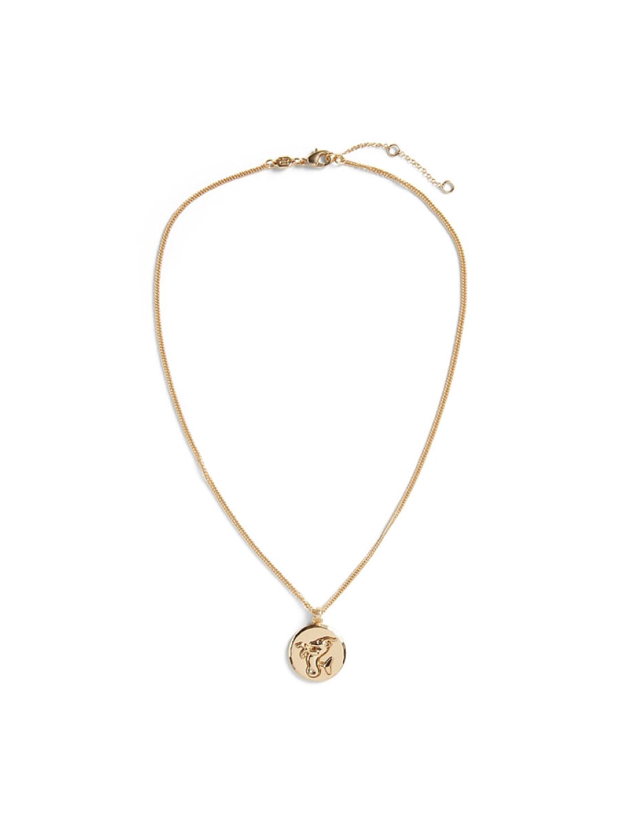 Banana Republic Zodiac Disc Necklace