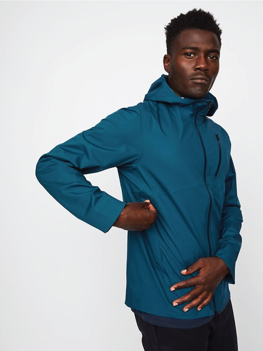 Hill City Waterproof Hooded Shell