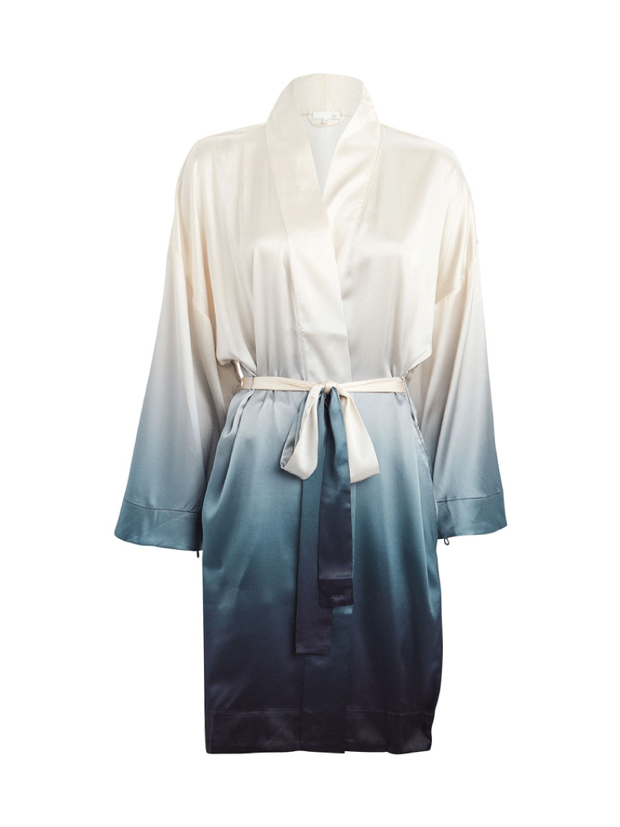Intermix Ombre Silk Robe