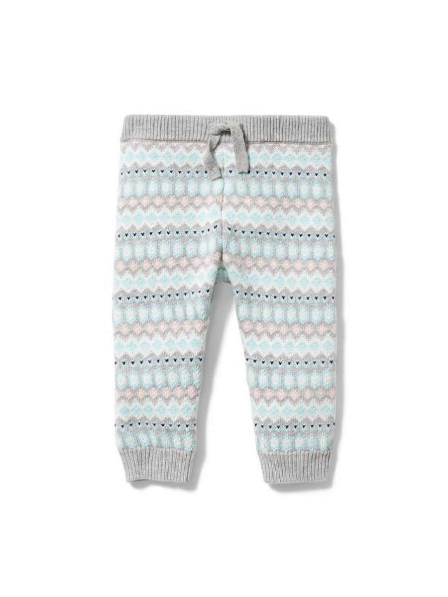 Janie and Jack Fair Isle Sweater Pant