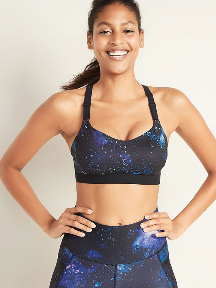 Old Navy Powersoft Adjustable Strap Sports Bra