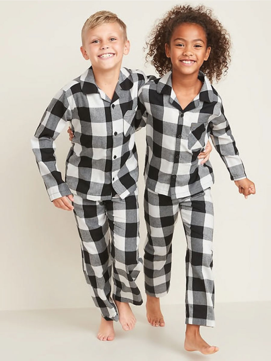 Old Navy Holiday PJs for the Family