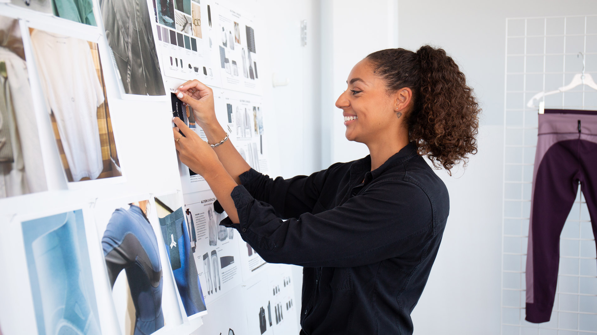 Alexandra's Creating a Vision Board for the Allyson Felix Collection