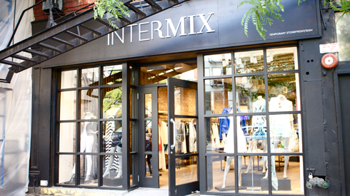Exterior of Intermix Store