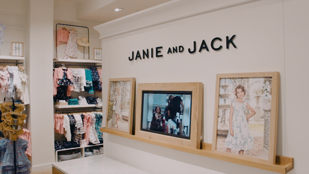 Exterior of Janie and Jack Store