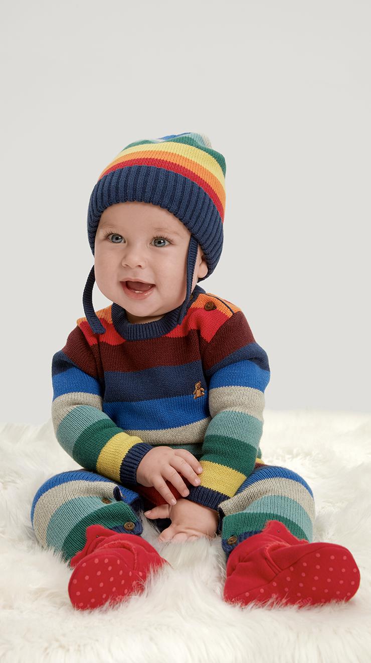 Gap Baby Happy Stripe One-Piece
