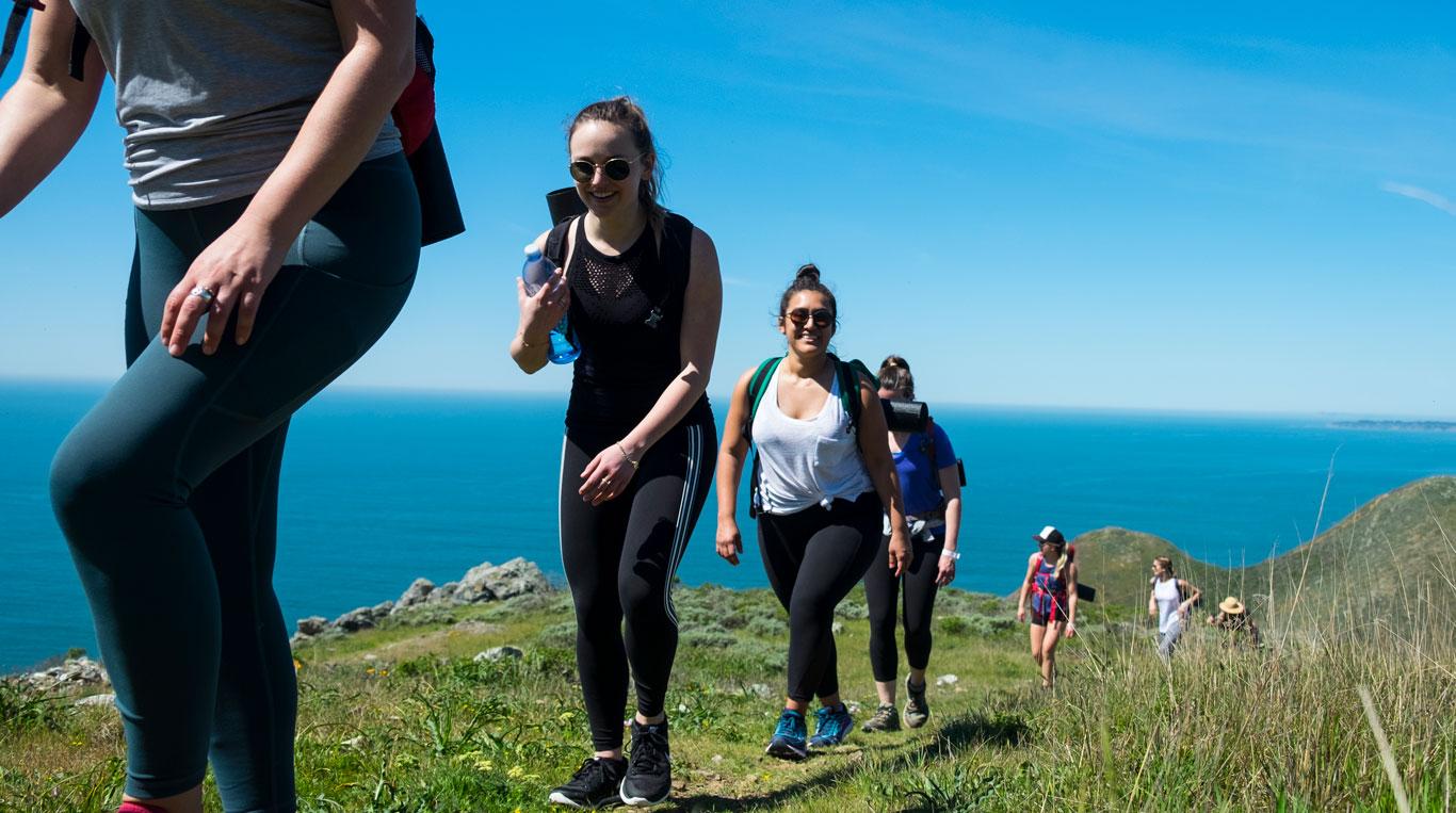 Hiking at Athleta Quest
