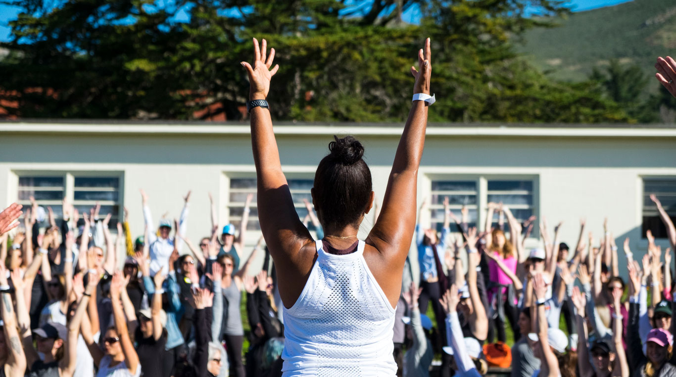 Yoga at an HQ team