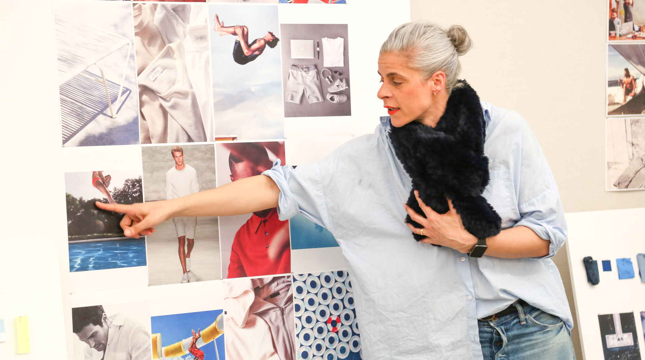 Head of Men's Design at BR walks us through mood boards