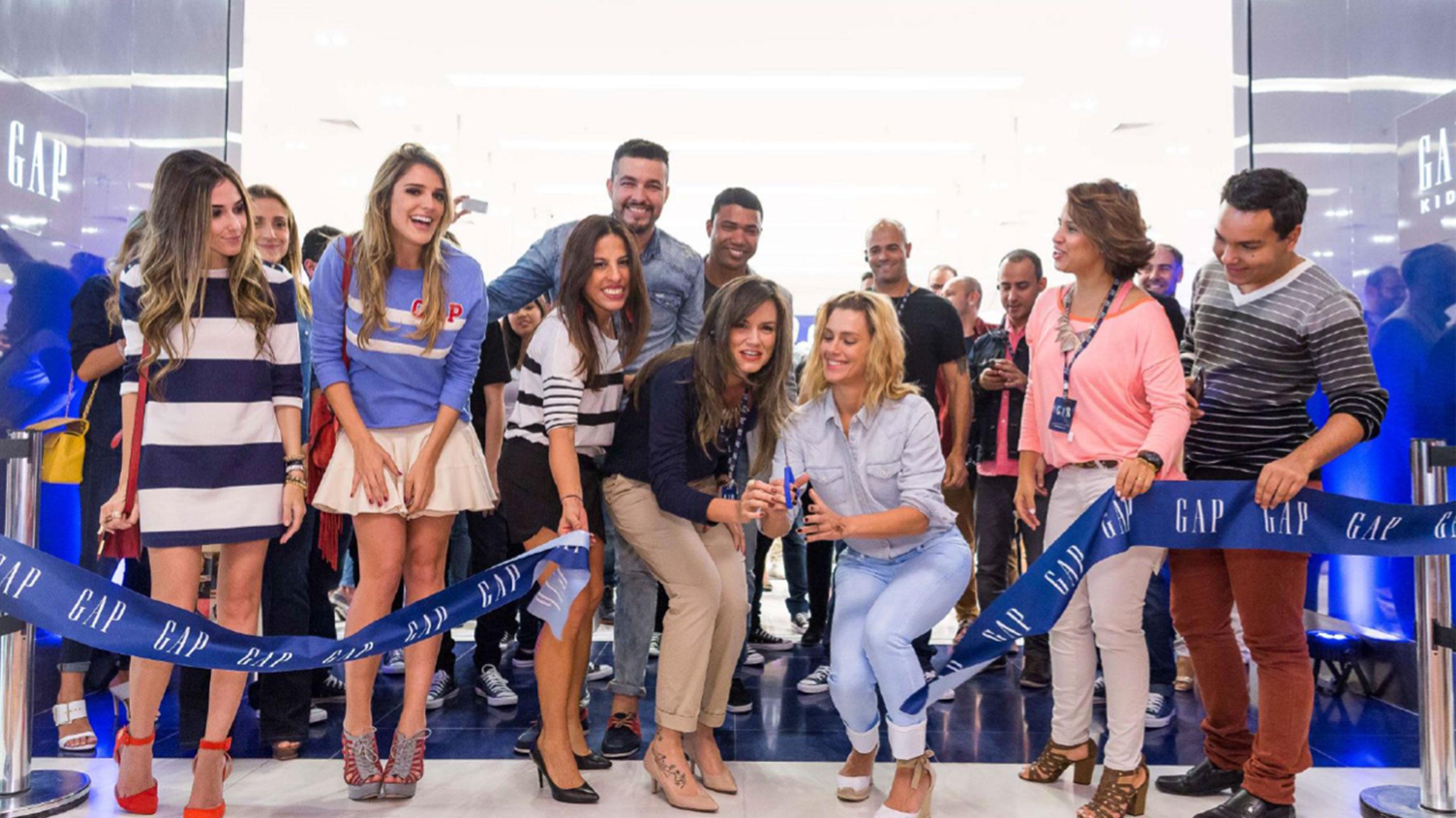 Brazil Celebrating Store Opening