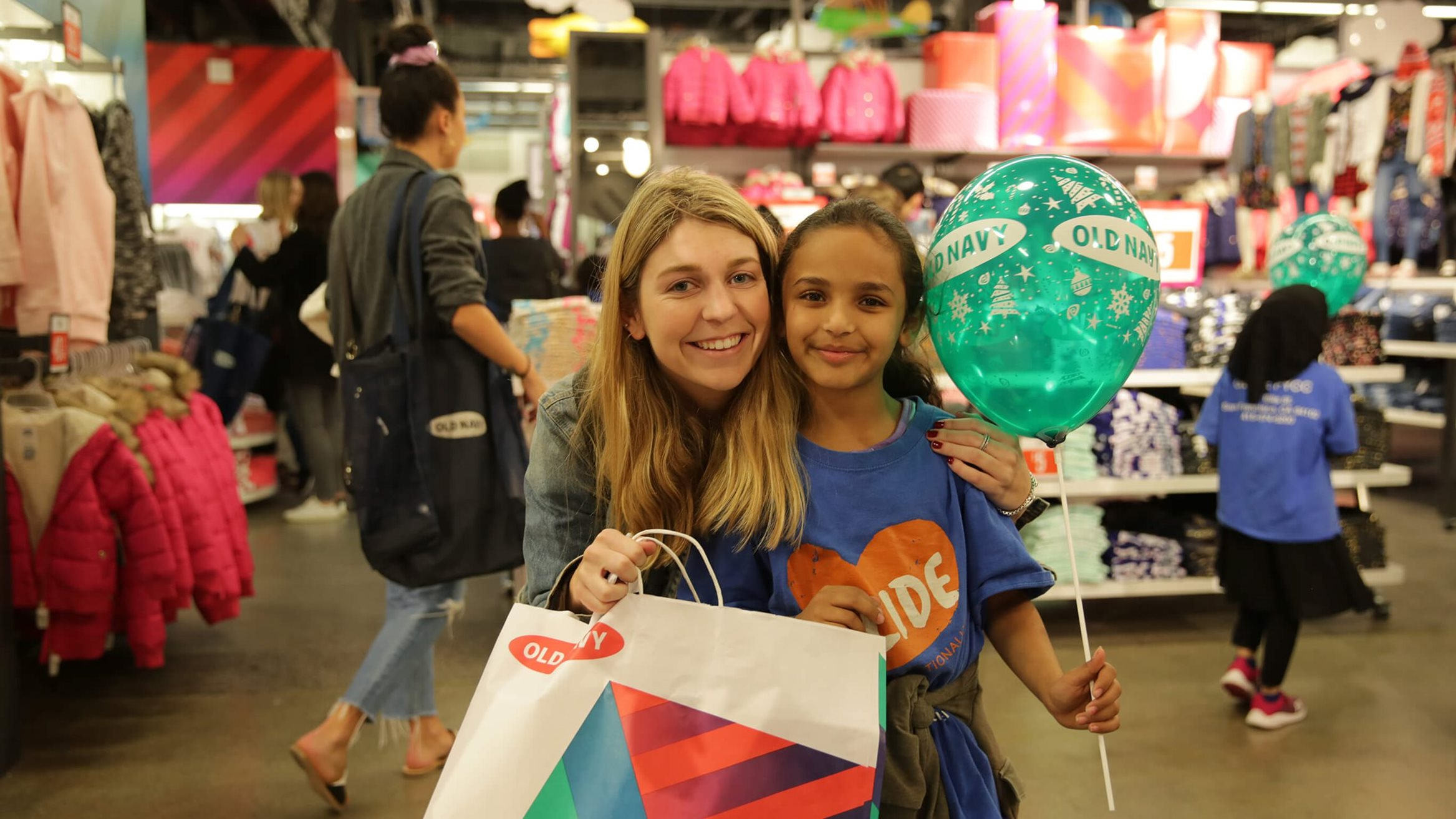 Old Navy Spreading the Old Navy Love for Deserving Kids